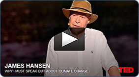 TED Talk: Top climate scientist James Hansen tells the story of his involvement in the science and debate over global  climate change